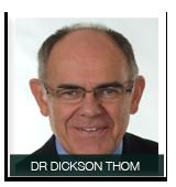 DR DICKSON THOM